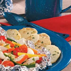 Campfire Foil Potatoes Recipe