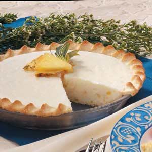 Pineapple Vanilla Cream Cheese Pie Recipe