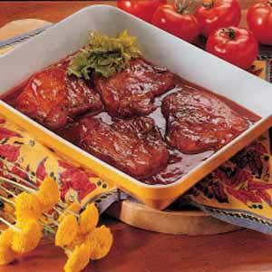 Spiced Pork Chops Recipe