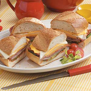 Hot Pizza Subs Recipe