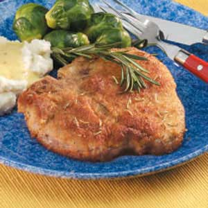 Rosemary Pork Chops Recipe