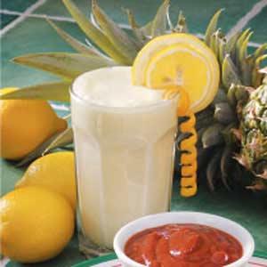 Lemon Pineapple Fizz Recipe