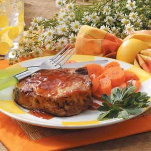 Chili Barbecue Chops Recipe