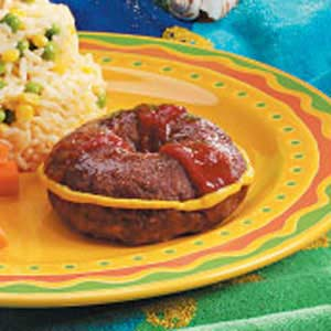 Life Preserver Meat Loaves Recipe