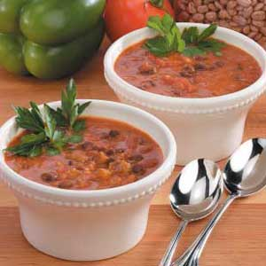 Contest-Winning Three-Bean Soup Recipe