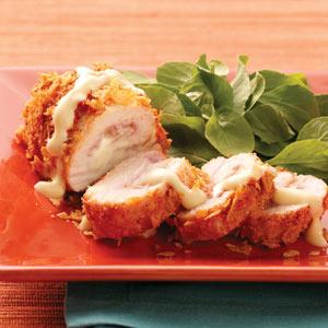 Light Chicken Cordon Bleu Recipe