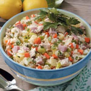 Hearty Chicken and Rice Salad Recipe