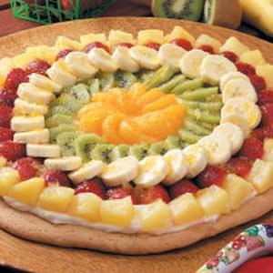 Fancy Fruit Pizza Recipe