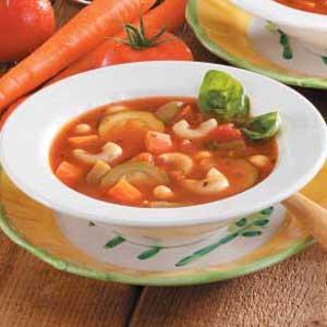 Minestrone Soup Recipe America S Test Kitchen
