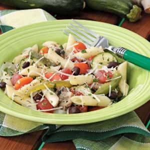 Penne with Veggies 'n' Black Beans Recipe