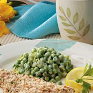 Creamy Celery and Peas Recipe
