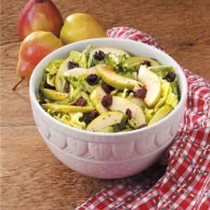 Fruity Green Salad with Honey Dressing Recipe