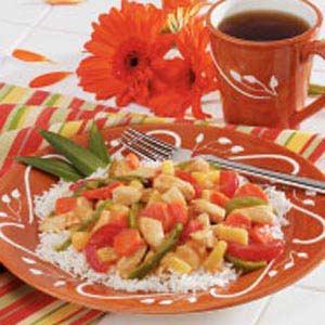 Chicken Pineapple Stir-Fry Recipe