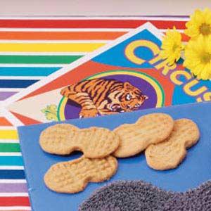 Peanut-Shaped Cookies Recipe