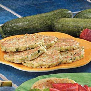 Oregano Zucchini Pancakes Recipe