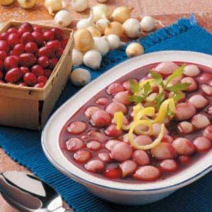 Cranberry Pearl Onions Recipe