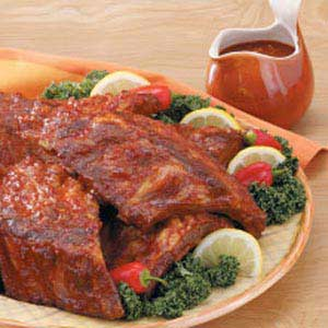 Baked Barbecued Spareribs Recipe
