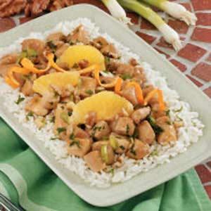 Orange Chicken Stir-Fry Recipe