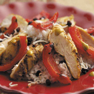 Curried Peanut Chicken Recipe