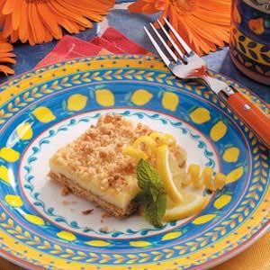 Lemon Cheese Bars Recipe
