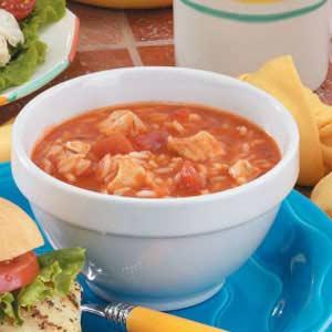 Italian Chicken Rice Soup Recipe