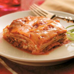 Creamy Lasagna Casserole Recipe
