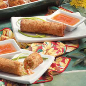 Shrimp Egg Rolls Recipe