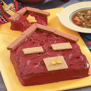 Schoolhouse Cake Recipe