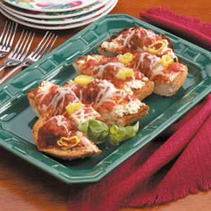 Meatball Sandwich Slices Recipe
