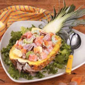 Ham and Sweet Potato Salad Recipe