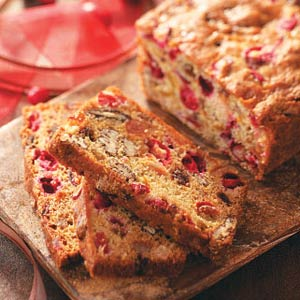 Cranberry Fruit Bread Recipe