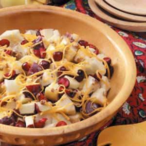 Cheddar Waldorf Salad Recipe