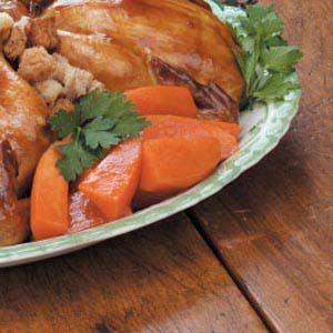 Gingered Sweet Potatoes Recipe