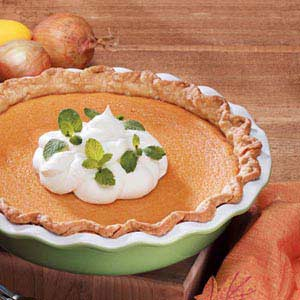 Sweet Potato Custard Pie Recipe