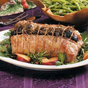 Rosemary Plum Pork Roast Recipe