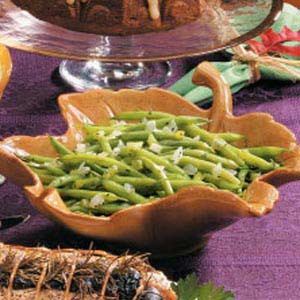 Green Beans with Basil Recipe