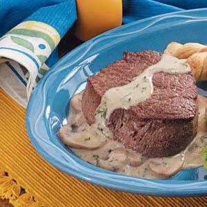 Mushroom Beef Tenderloin Recipe