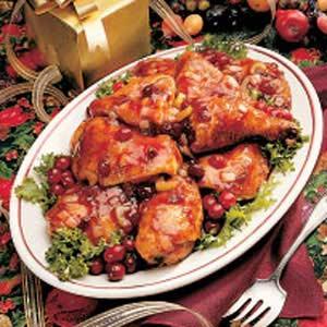 Easy Cranberry Chicken Recipe