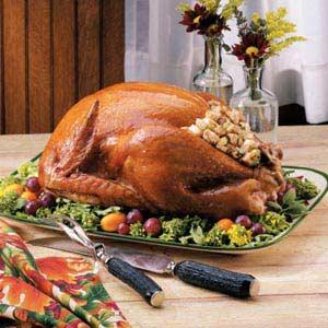 Turkey with Grandma's Stuffing Recipe