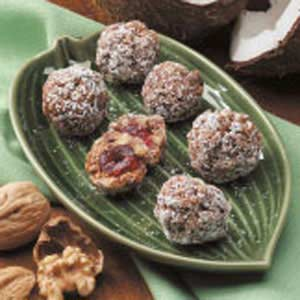 Cherry Walnut Balls Recipe