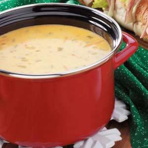 Chili Cheese Soup Recipe