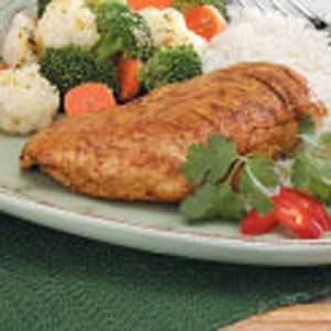 Curry Chicken Breasts Recipe