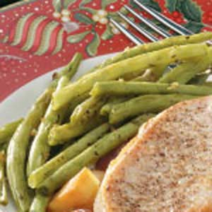 Healthy Garlic Green Beans