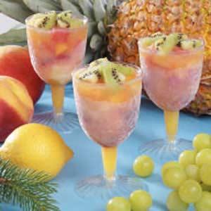 Fancy Frozen Fruit Cups Recipe