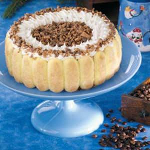 Coffee Ice Cream Torte Recipe