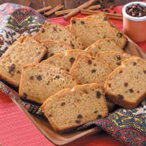 Raisin Sweet Potato Bread Recipe