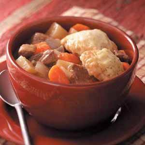 Venison Dumpling Stew Recipe