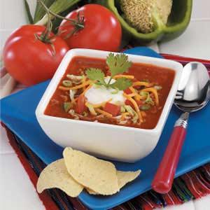 Taco Salad Soup Recipe
