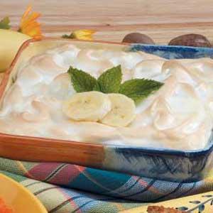 Warm Banana Pudding Recipe