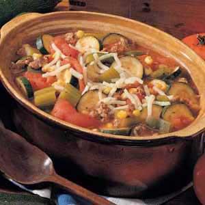 Tomato Zucchini Stew